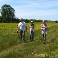 Badania fitosocjologiczne nadbużańskich łąk  (Fot. A. Urbanek)