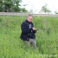 Badania botaniczne w dolinie Pszczynki (Fot. P. Obłoza)
