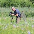 Prace terenowe w dolinie Pszczynki (Fot. P. Obłoza)