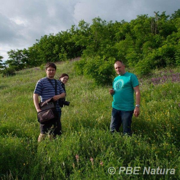 Badania fitosocjologiczne na Ukrainie (Fot. U. Wysokińska)